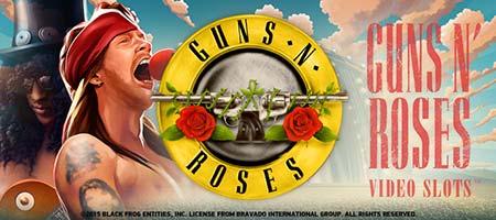 Guns N 'Roses video slot 175 gratis spins